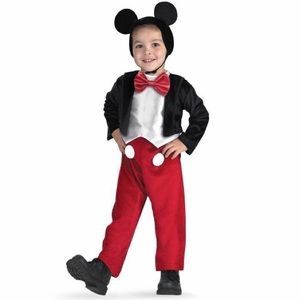 Mickey Mouse costume size 4-6